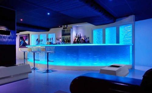 MY Blue Bar
