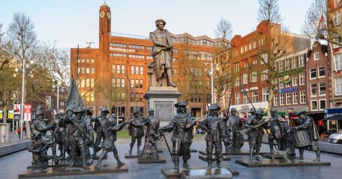 Rembrantplein Meydanı
