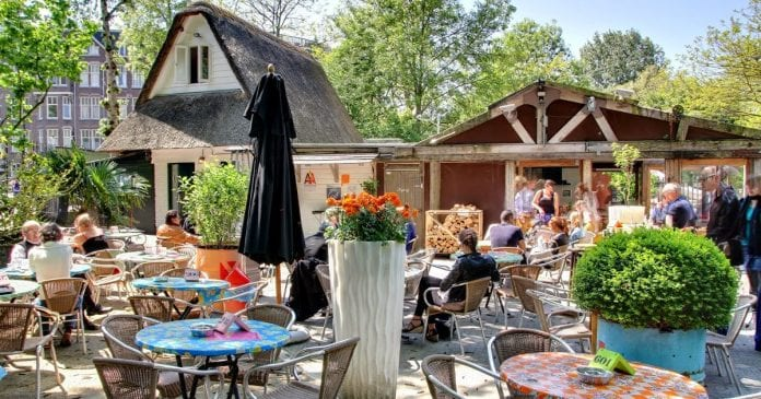 De Vondeltuin Restoran