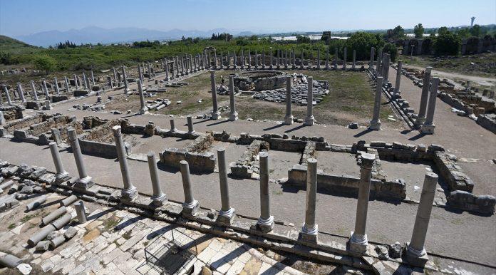 perge antik kenti