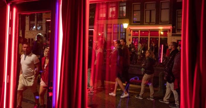 Amsterdam: Light Discirt Street 2 Saatlik Yürüyüş Turu