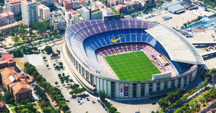 Barselona Nou Camp Stadyumu