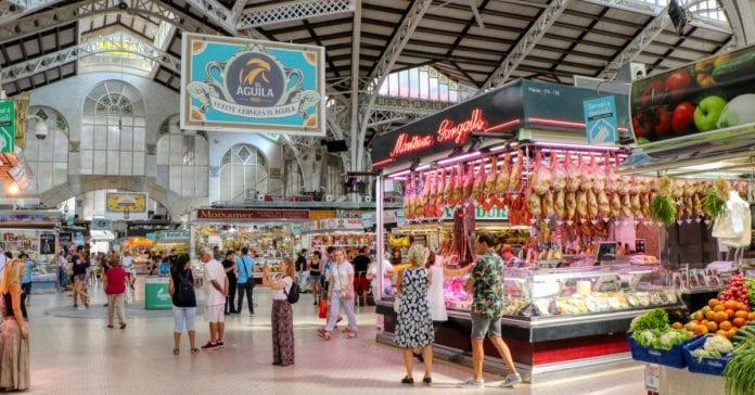 Valensiya merkez pazarı