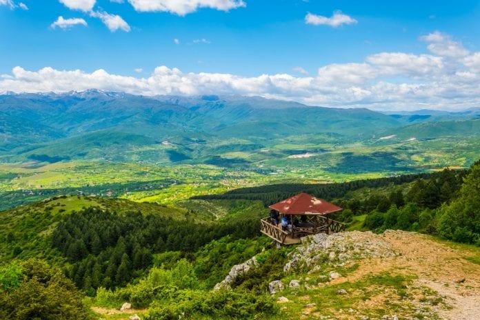 Vodno Dağı Seyir Tepesi