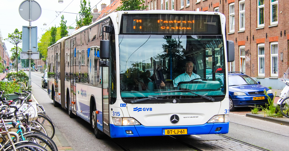 amsterdam otobüs