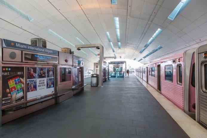 Miami Havalimanı Metro Ulaşımı