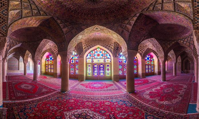 Nasır El Mülk Camii, Şiraz