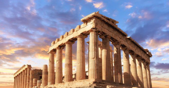 parthenon tapınağı