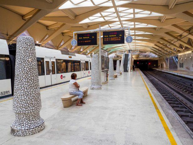 Valensiya Metro İstasyonu