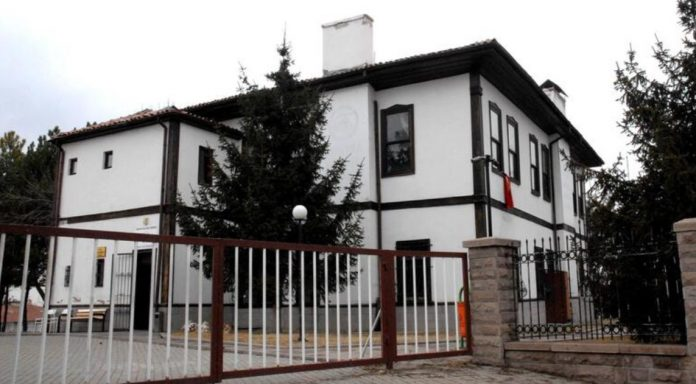Ankara Kültür ve Sanat Evi Abidin Paşa Köşkü