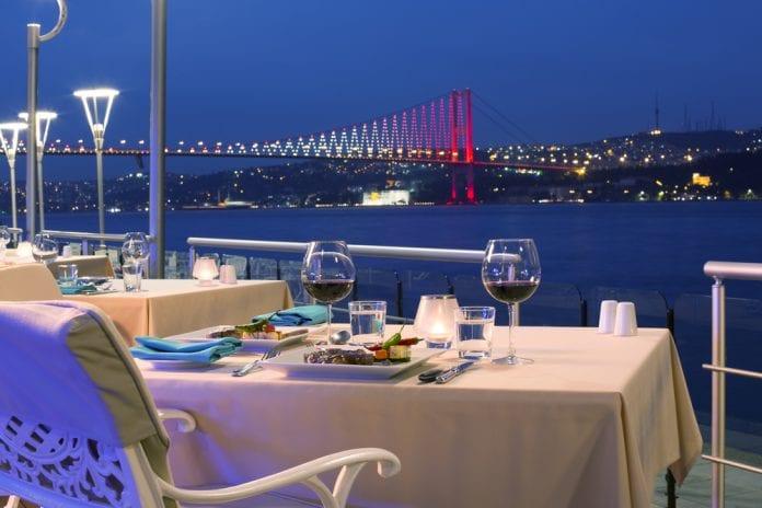 İstanbul Boğaz Manzarasi