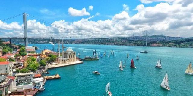 İstanbul kuş bakışı