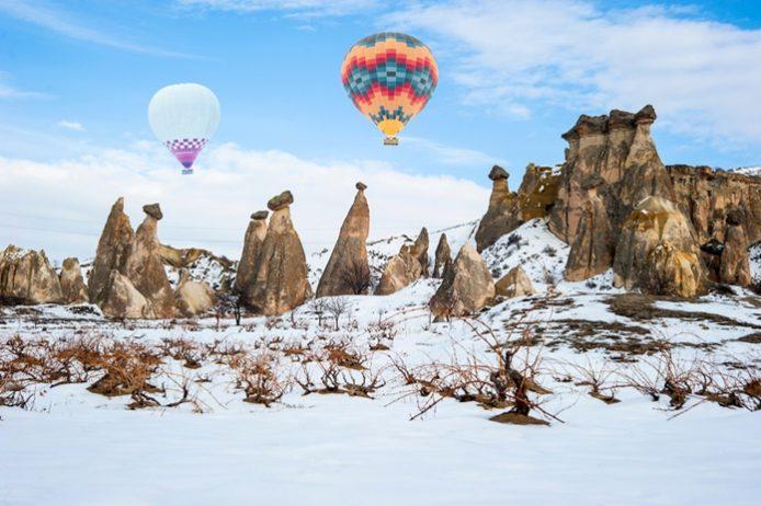 Kapadokya Sıcak Hava Balonları