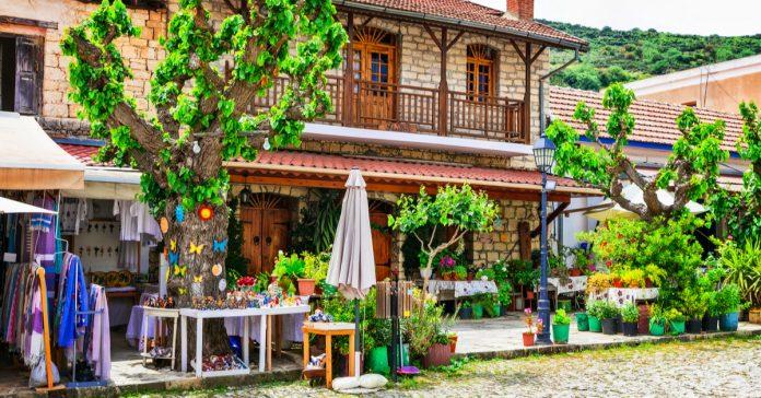 Omodos Köyü
