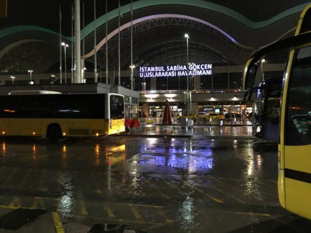 Sabiha Gökçen Havalimanı Burulas