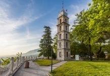 tophane parkı saat kulesi