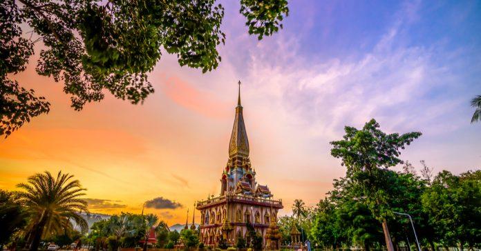 wat chalong tapınağı