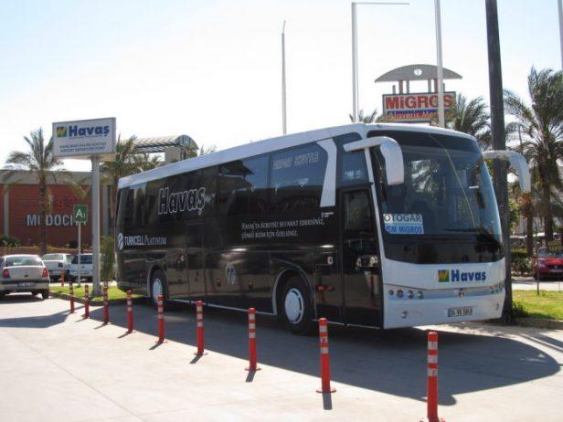 Antalya Havalimanı Havaş Otobüsü
