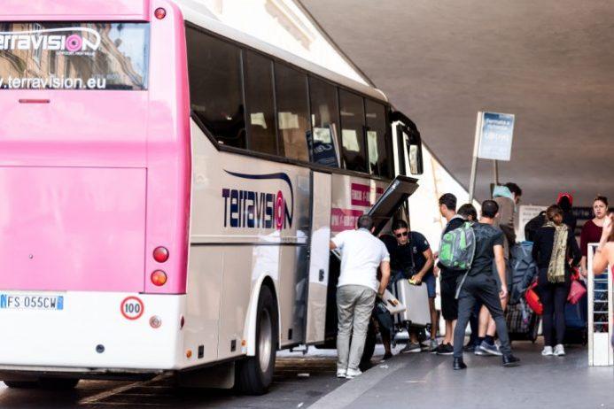 Terravision Otobüsü