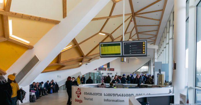 batum havalimanı bekleme salonu