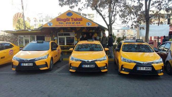 Bingöl Havalimanı Taksi