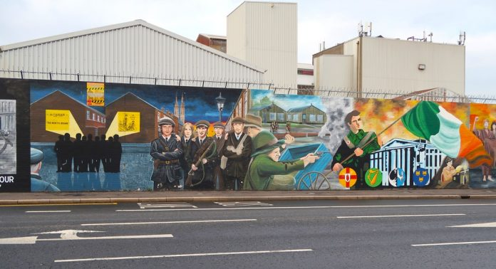 Dayanışma Duvarı, Belfast