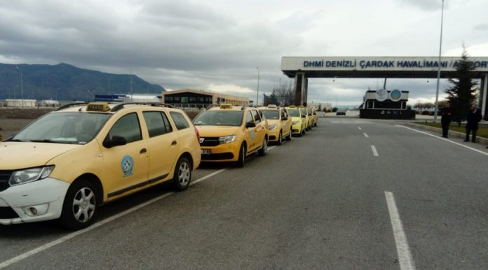 denizli havalimanı taksisi