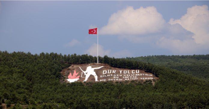 dur yolcu anıtı
