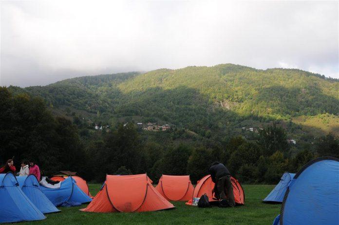 Güzeldere Şelalesi Tabiat Parkı Kamp Alanı
