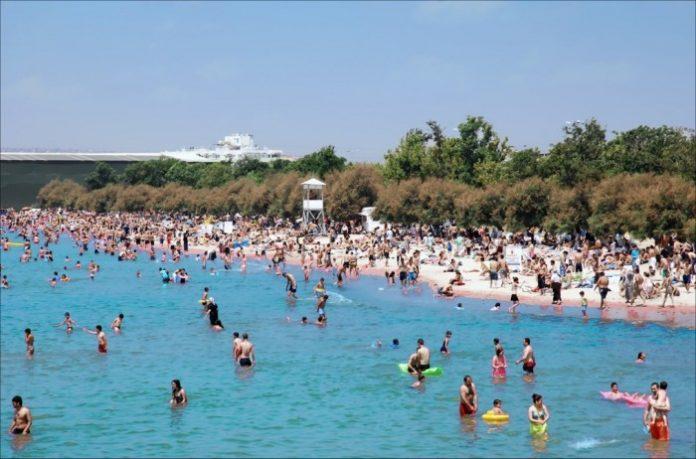 Küçükçekmece Menekşe Plajı