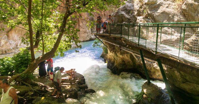 Saklıkent Kanyonu Milli Parkı