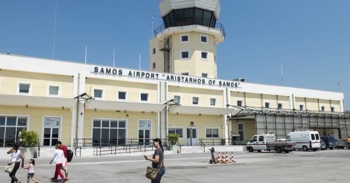 samos havalimanı