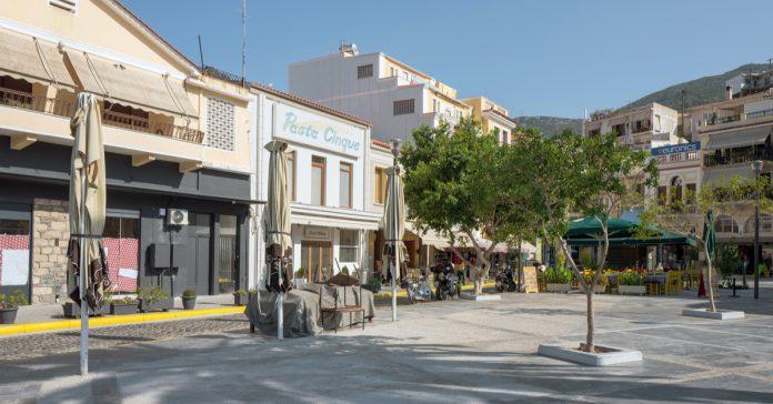 samos şehir merkezi