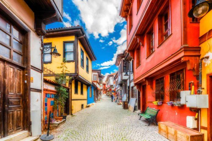 Tarihi Odunpazarı Evleri, Eskişehir