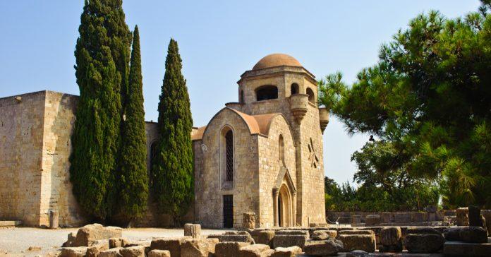 Filerimos Byzantine Monastery and Castle