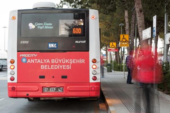 Antalya Havalimanı 600 No'lu Otobüs