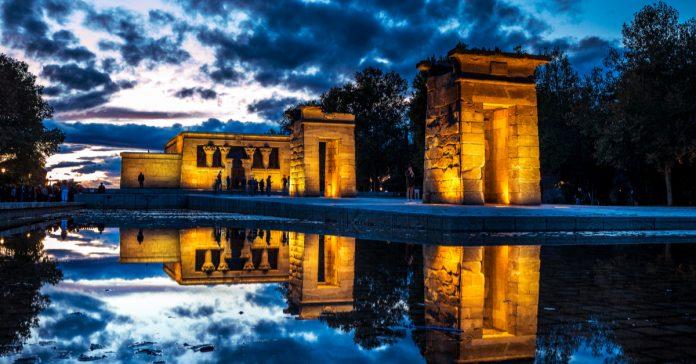 Parque de Templo de Debod