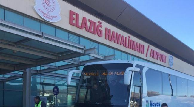 elazığ havalimanı havaş otobüsü