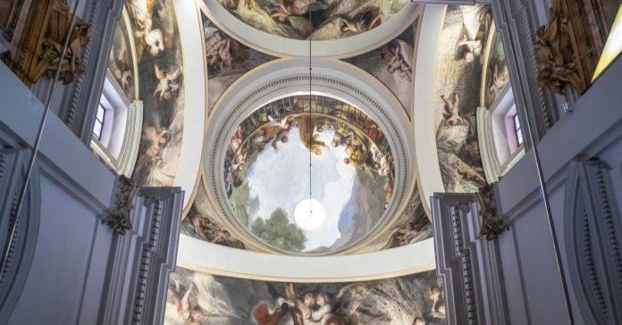 Goya Frescoes at Ermita de San Antonio de la Florida