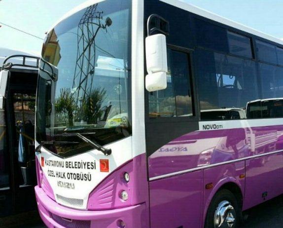 Kastamonu Havalimanı Yolcu Otobüsü