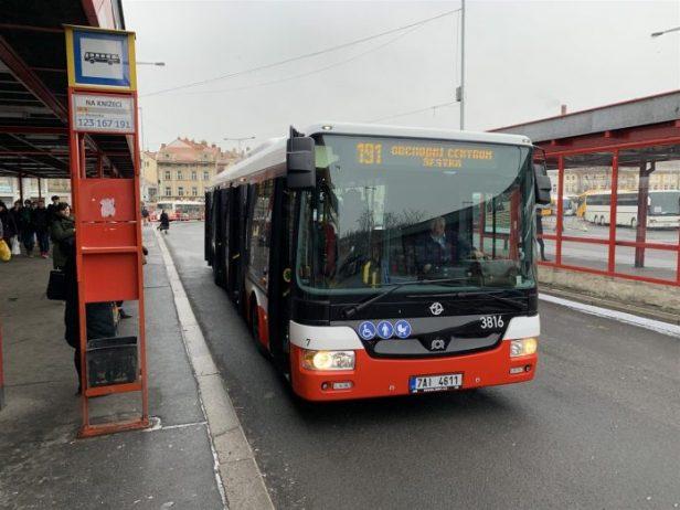 Prag Havalimanı Otobüs Hatları