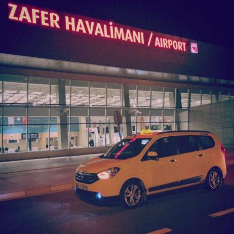Kütahya Havalimanı Taksi Ulaşımı