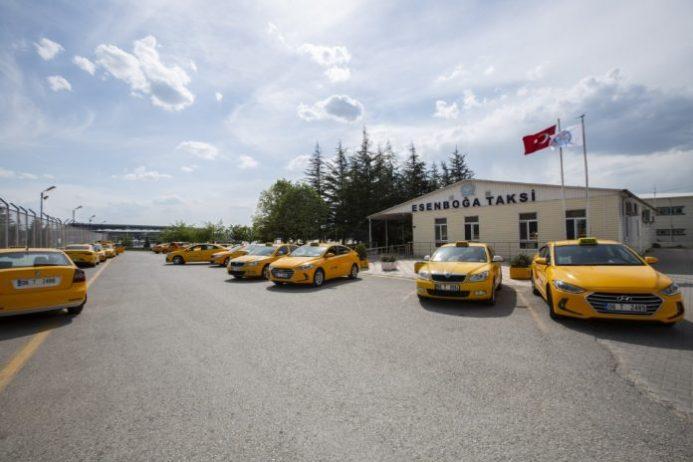 Ankara Esenboğa Havalimanı Taksi