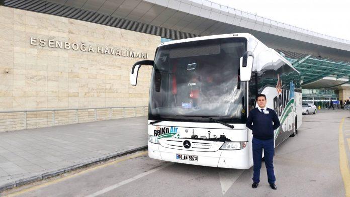Ankara Havalimanı Belko Air Yolcu Servisi