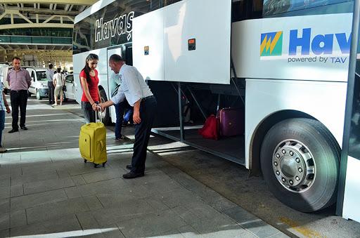Ankara Havalimanı HAVAŞ Servis Otobüsü