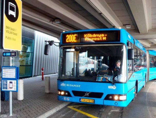 Budapeşte Havalimanı Toplu Taşıma Otobüsü