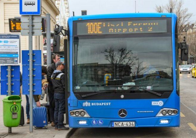 Budapeşte Havalimanı Yolcu Otobüsü