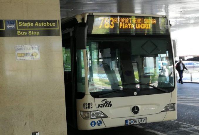Bükreş Havalimanı Yolcu Otobüsü