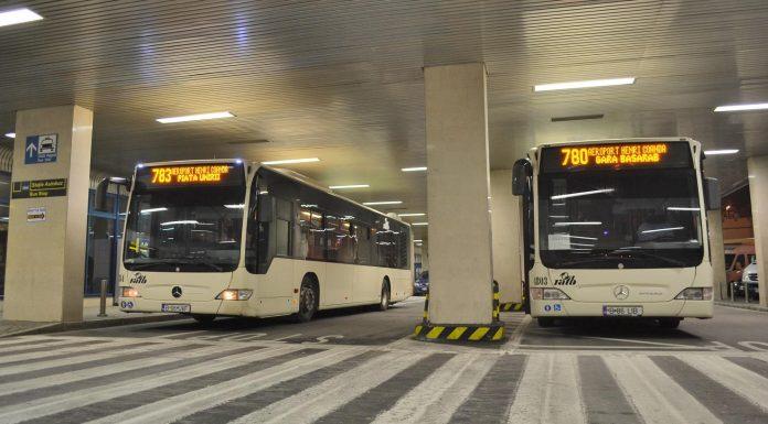 Bükreş Otopeni Havalimanı Yolcu Otobüsleri