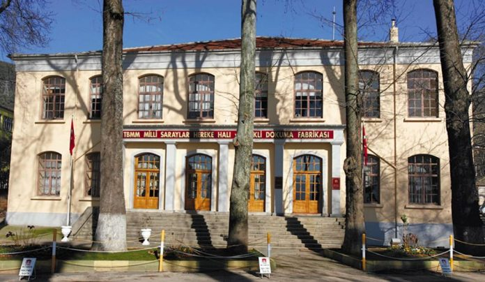 hereke halı ve ipekli dokuma fabrikası